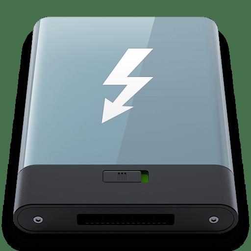 Graphite Thunderbolt W icon