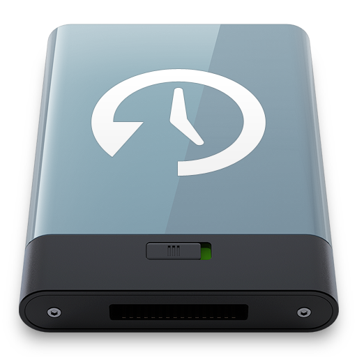 Graphite Time Machine W icon