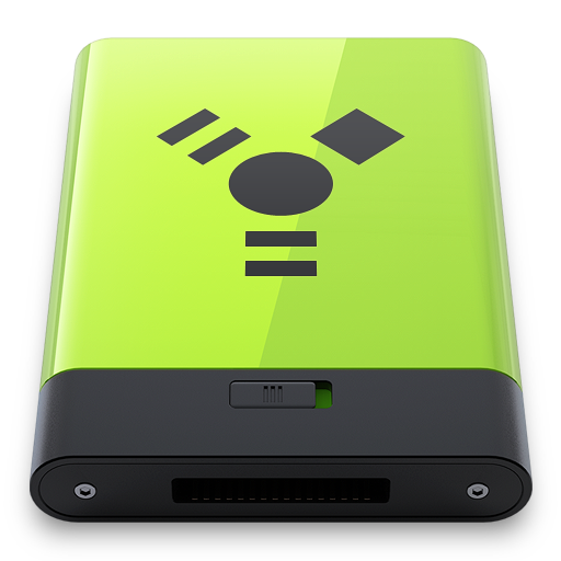 Green Firewire icon