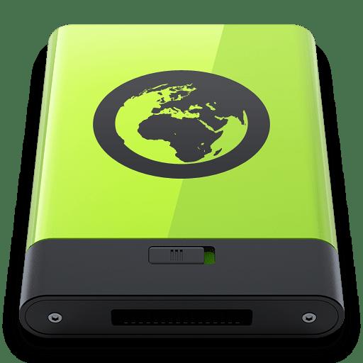 Green-Server icon