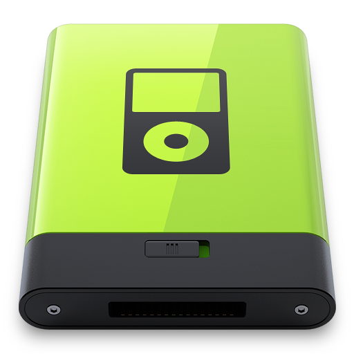 Green iPod Icon | Hyper Realistic HD Iconset | Esxxi.me