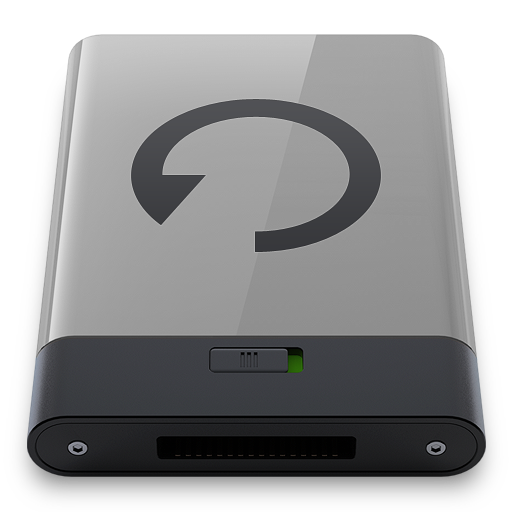 Grey Backup B icon
