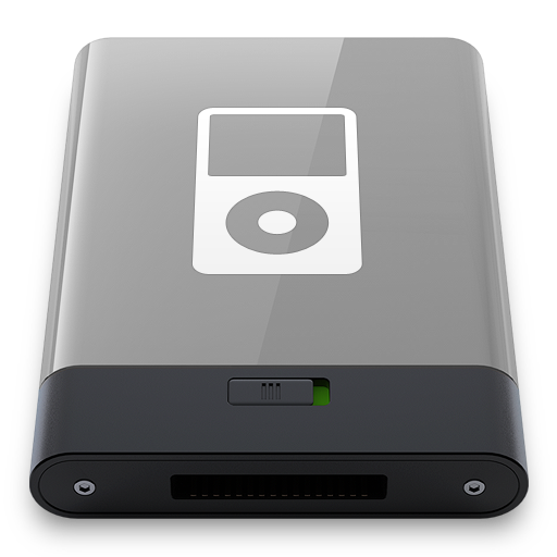 Grey iPod W icon