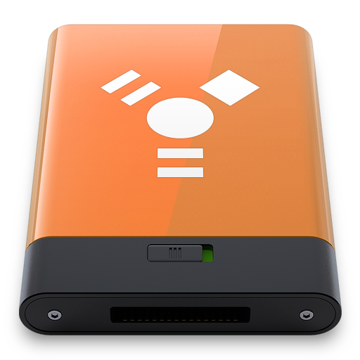 Orange Firewire W icon