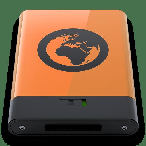 Orange Server B icon