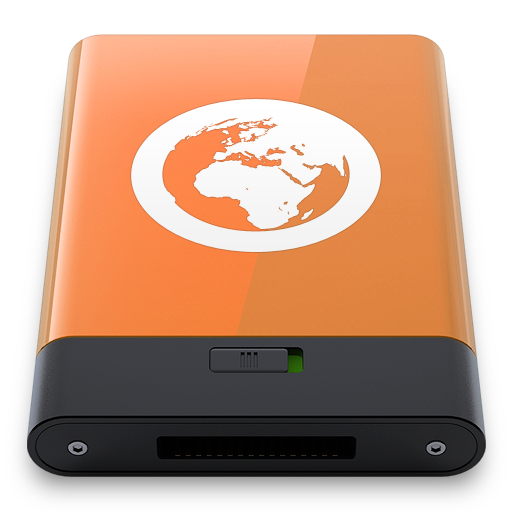 Orange Server W icon
