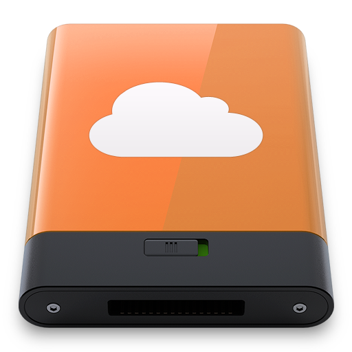 Orange-iDisk-W icon