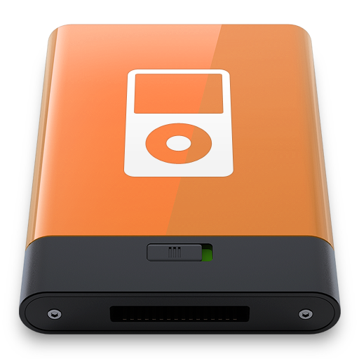 Orange-iPod-W icon