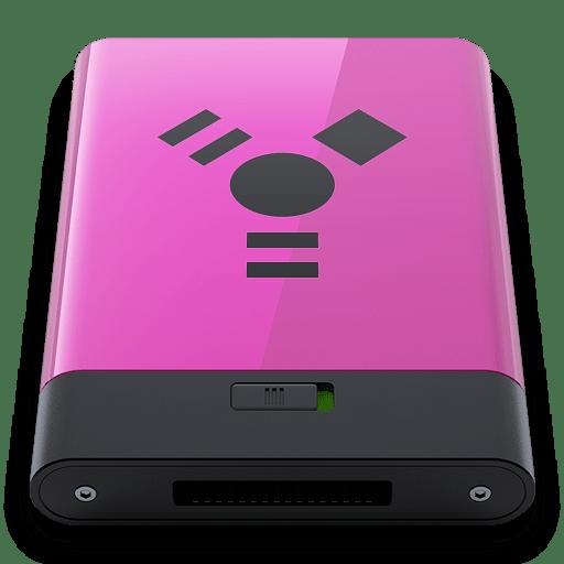Pink-Firewire-B icon