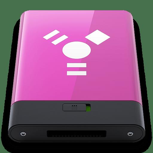 Pink-Firewire-W icon
