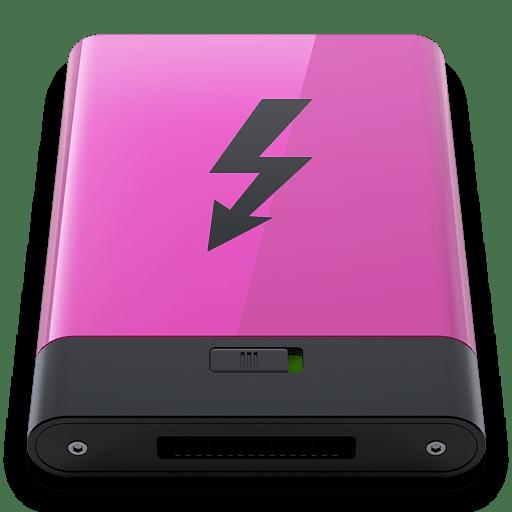 Pink-Thunderbolt-B icon