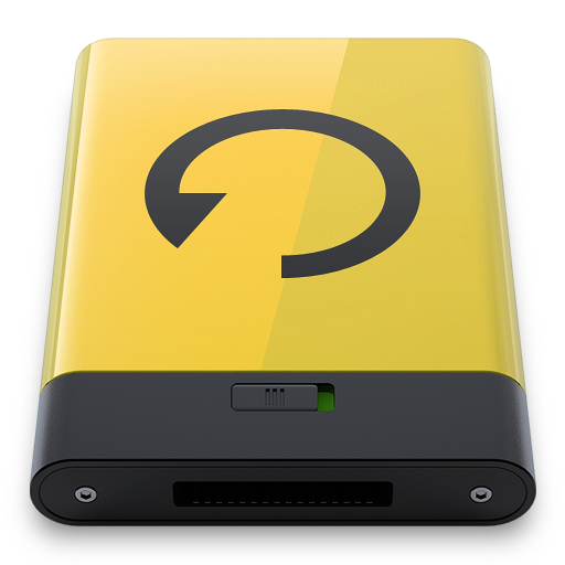 Yellow-Backup icon