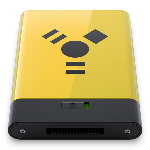 Yellow Firewire icon