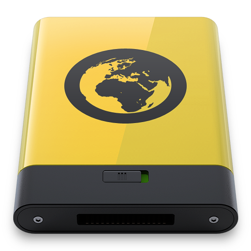 Yellow-Server icon