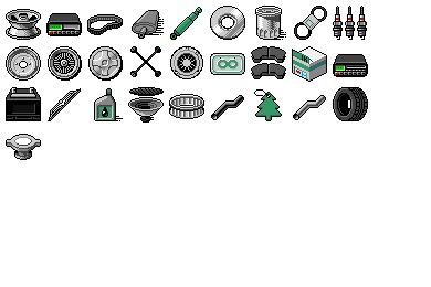 Auto Parts Icons