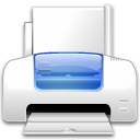 Action file print icon