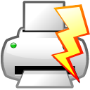 Action-file-quick-print icon