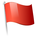 Action flag icon