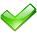 Action ok icon