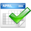 App calendar icon