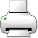App kjobviewer printer icon