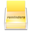 App reminder icon