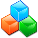 Device blockdevice cubes icon