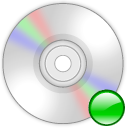 Device cd rom mount icon