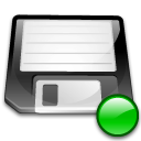 Device floppy mount icon