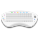 Device keyboard wireless icon
