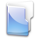 Filesystem folder blue icon