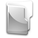 Filesystem folder grey icon