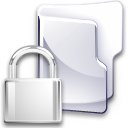 Filesystem folder locked icon