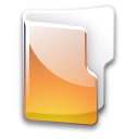 Filesystem folder yellow icon