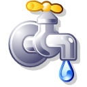 Filesystem pipe tap icon