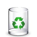 Filesystem trash empty icon