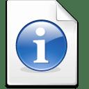 Mimetype info icon