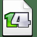 Mimetype karbon icon