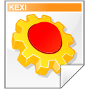 Mimetype kexi icon