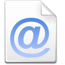 Mimetype-message icon