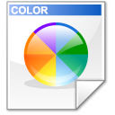 Mimetype mime colorset icon