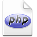 Mimetype php icon