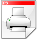 Mimetype postscript icon
