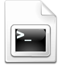 Mimetype shellscript icon
