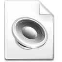 Mimetype-sound icon