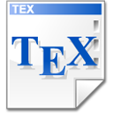 Mimetype tex icon