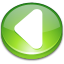 Action arrow left icon