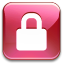 Action-lock-pink icon