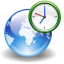 App world clock icon