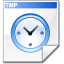 Filesystem file temporary icon